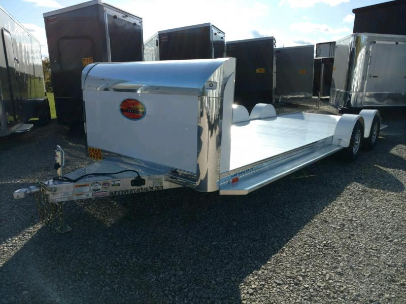 2020 Sundowner 6.9X22 Sunlite OPEN Car Trailer.... STOCK# SD-FA8006