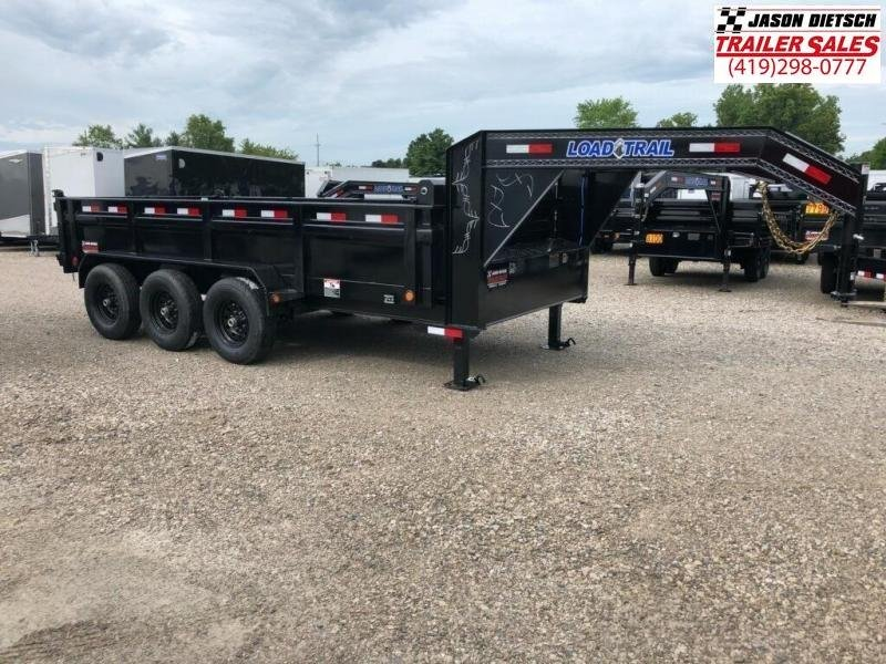 2020 Load Trail 83X16 Triple Axle Gooseneck  Dump Trailer....STOCK# LT-195396