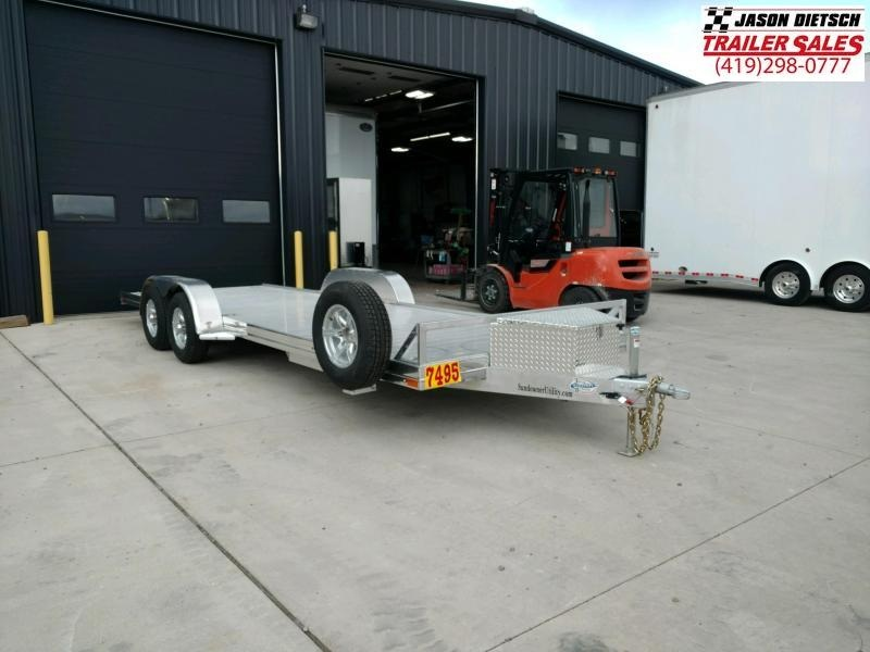 2020 Sundowner  6.9X22 Utilty/Car Trailer