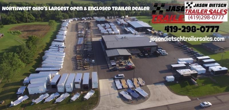 2018 Imperial 8.5X 23' Open Equipment/Car Trailer