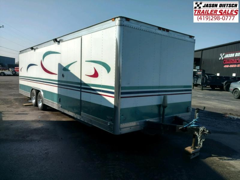 1981 Gold Rush 8.5X24 Enclosed Car/Race Trailer