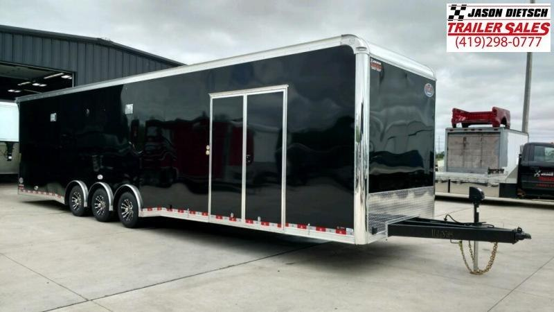 2020 United 8.5X34 Extra Height Car/Racing Trailer