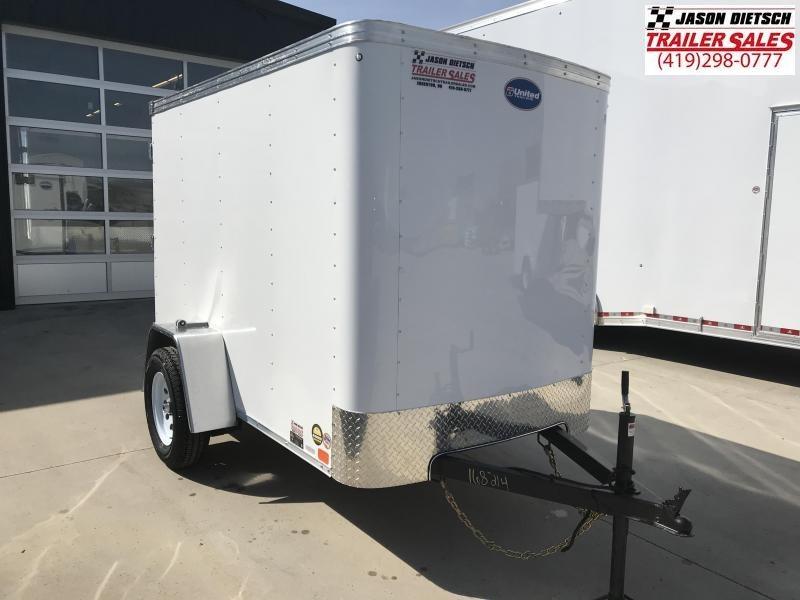 2020 United XLE 5X8 Enclosed Cargo Trailer