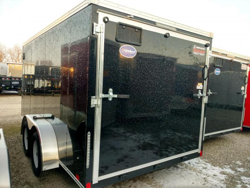 2020 United XLV 7x14 Slant/V-Nose Cargo Trailer