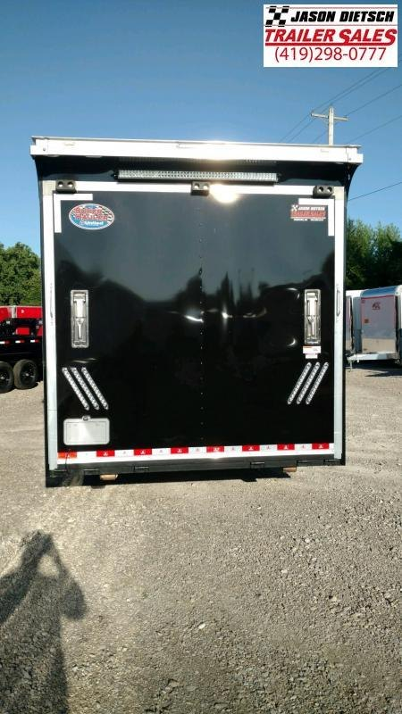 2019 United USHGN 8.5x44 Super Hauler Gooseneck Race Trailer Extra Height....Stock# UN-167728