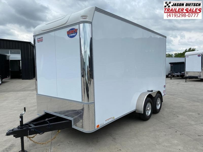 2021 United Trailers UXT 7X16 EXTRA HEIGHT Enclosed Cargo Trailer.... Stock# UN-172186