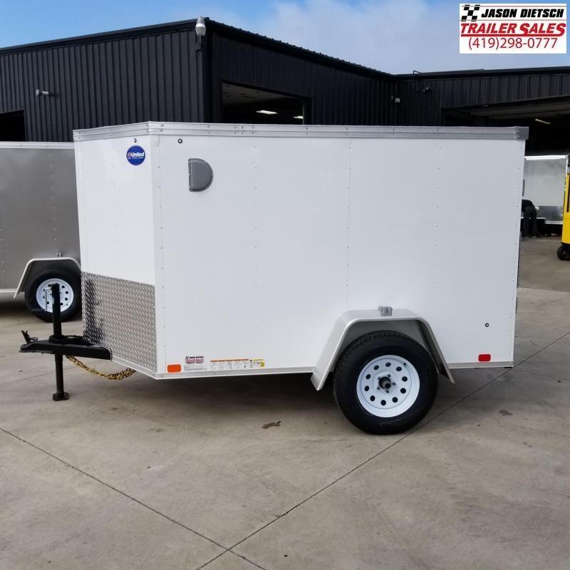 2020 United XLV 5X8 V-Nose Cargo Trailer