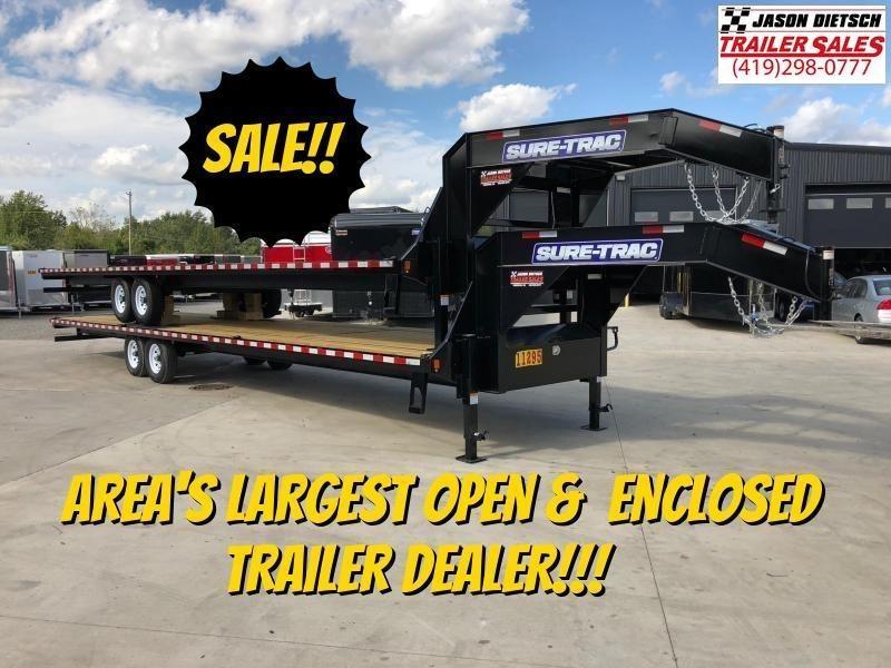 2019 Sure-Trac 15K 8.5x36 LowPro Deckover Equipment Trailer
