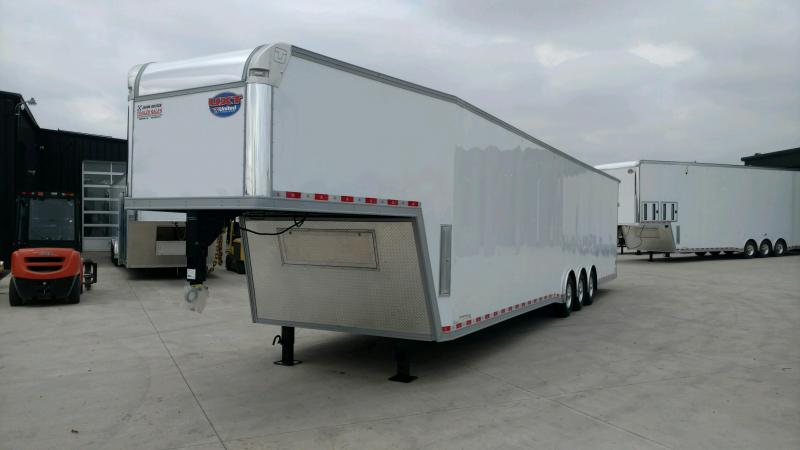 2020 United 8.5X44 Wide Body Car/Race Trailer Xtra Height