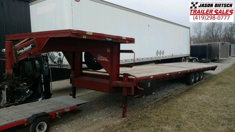 2012 JC 102X40 Equipment Trailer