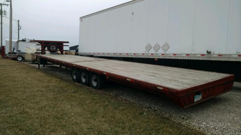 2012 JC MFG 102X40 Equipment Trailer