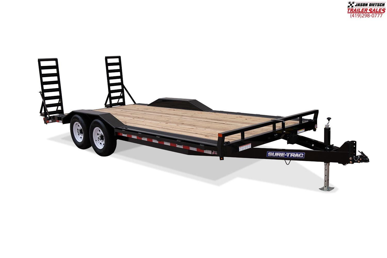 2020 Sure-Trac 7 X 18 + 4 Tilt Bed Equipment  14K
