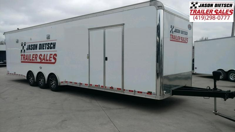 2020 United 8.5X34 Car/Race BIRD BOYS TRAILER Trailer Extra Height