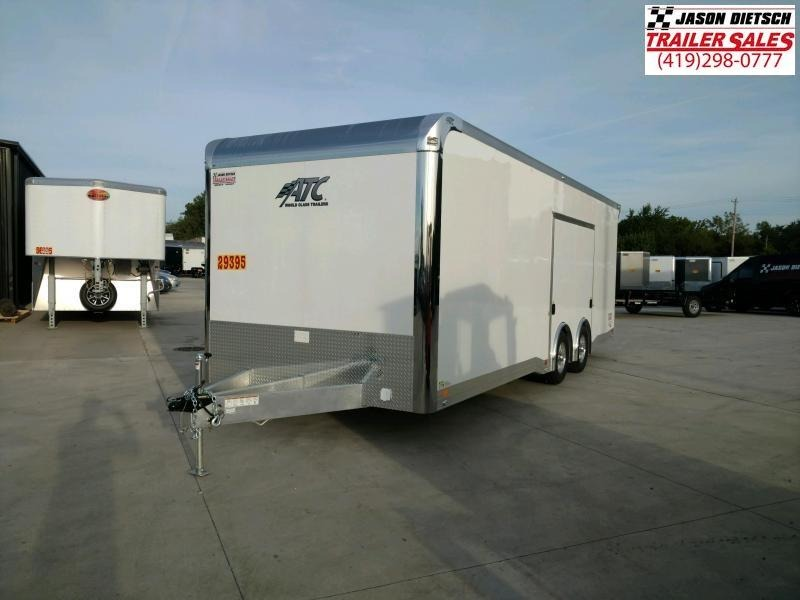 2019 ATC 8.5x24 Car/Racing Trailer Extra Height}