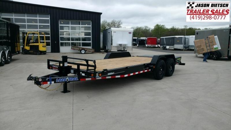 2020 Load Trail 83X20 Tandem Axle Carhauler....STOCK# LT-208053
