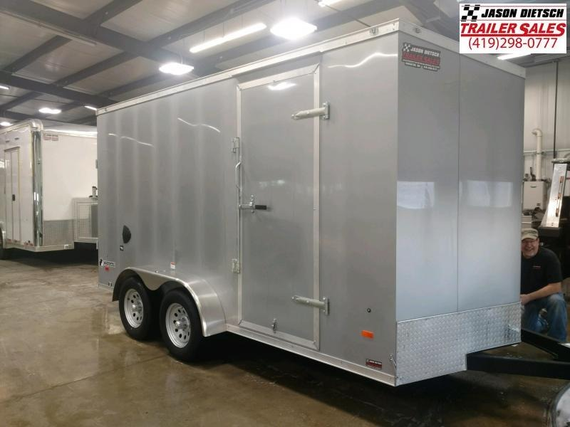"""2020 Haul About 7x14 V-Nose Cargo Trailer 6"""" Extra Height"""