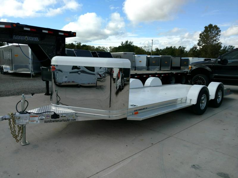 2020 Sundowner 6.9X22 Sunlite OPEN Car Trailer.... STOCK# SD-FA8002