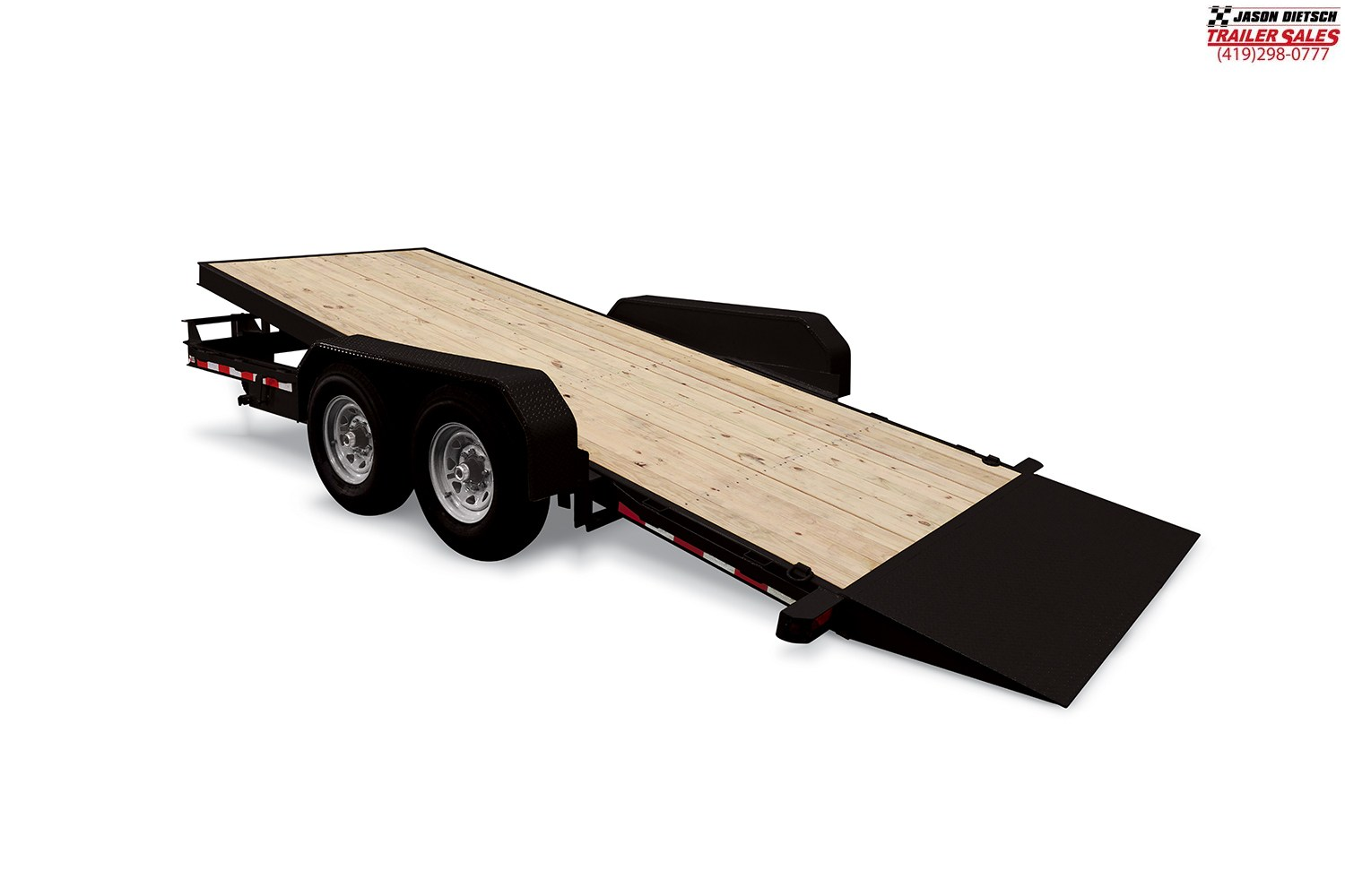 2020 Sure-Trac 14K 7x18 Tilt Bed Equipment Trailer