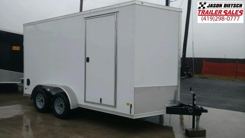 2020 Darkhorse 7x14 V-Nose Cargo Trailer Extra Height
