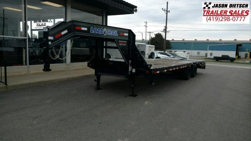 2020 Load Trail 102X28 Tandem Low-Pro Gooseneck Equipment Trailer