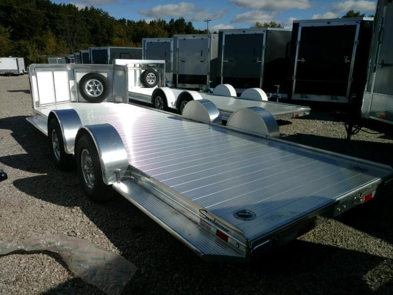 2020 Sundowner 6.9X22 Sunlite OPEN Car Trailer.... STOCK# SD-FA8018