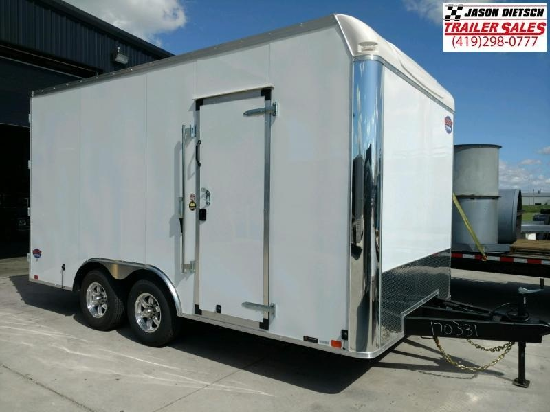2020 United Trailer UXT 8.5X16 Enclosed Cargo Trailer....Stock# UN-170331