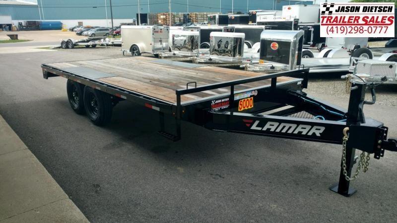 2020 LAMAR 102X16 Deck Over Trailer... STOCK# -8451