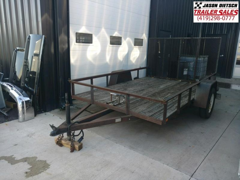 2000 FOREST RIVER  6.5X10 Utility Trailer...# LT-014641