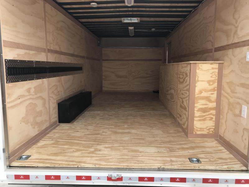 2020 United Trailer UXT 8.5x20 Enclosed Tool Crib Trailer....Stock#UN-172026