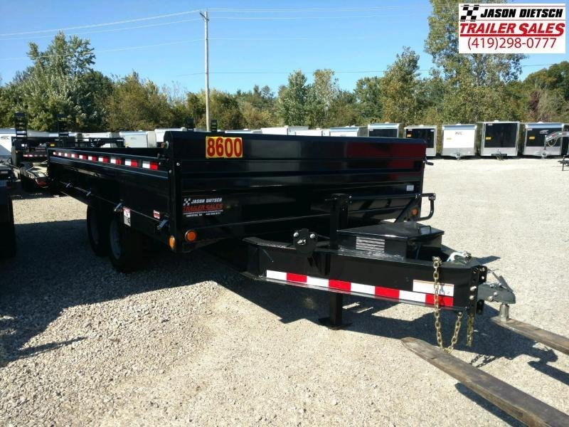 2019 Load Trail 96X16 Deck Over Dump Trailer