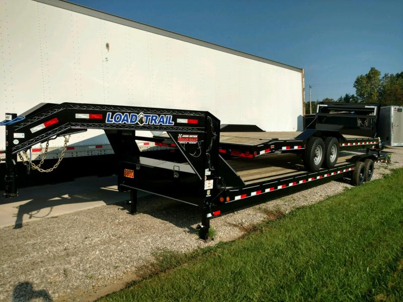 "2019 Load Trail 102"" X 36' Tandem Gooseneck Carhauler Car / Racing Trailer...#190326"