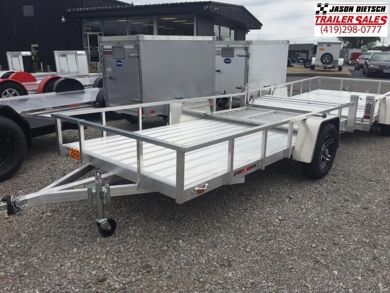 2020 Sport Haven 6 X 12 Aluminum Utility Trailer....STOCK# ST-009418