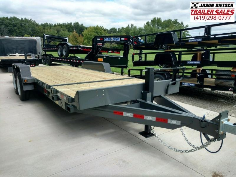 2020 Behnke 16K 83X22 Tilt Equipment Trailer