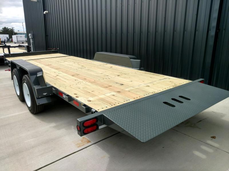 2020 Behnke 16K 83X22 Tilt Equipment Trailer
