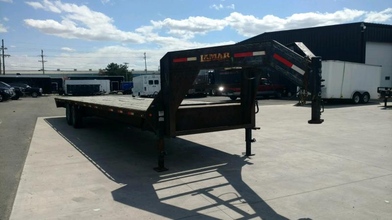 2012 Lamar 102X32 Gooseneck Equipment Trailer