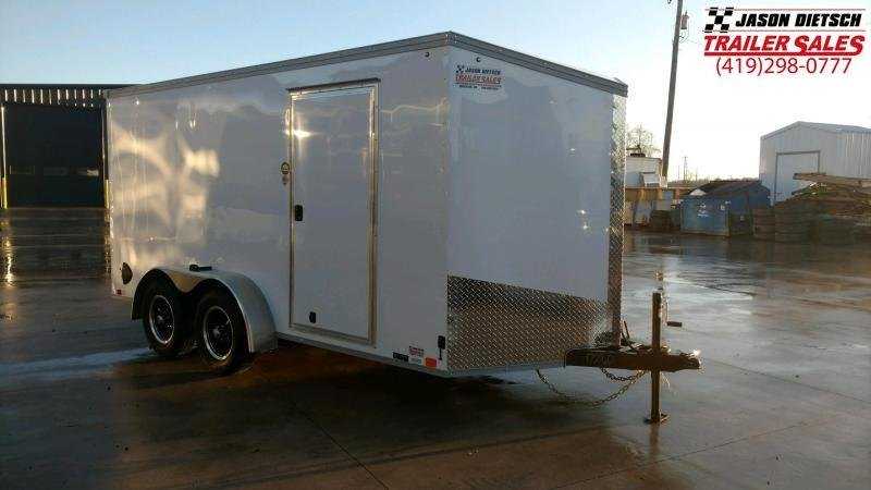 2020 United Trailers XLV 7x14 V-Nose Enclosed Cargo Trailer....Stock# UN-172160