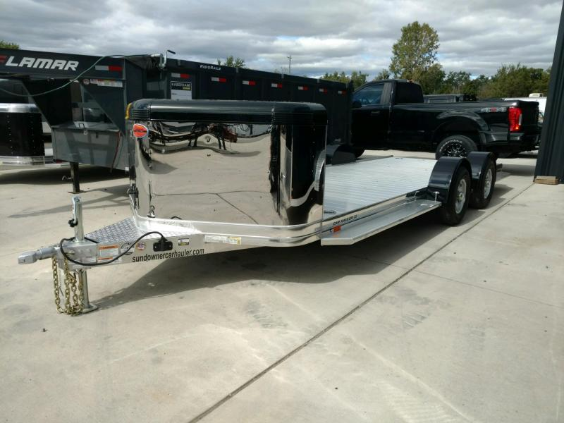 2020 Sundowner 6.9X22 Sunlite OPEN Car Trailer.... STOCK# SD-FA8000