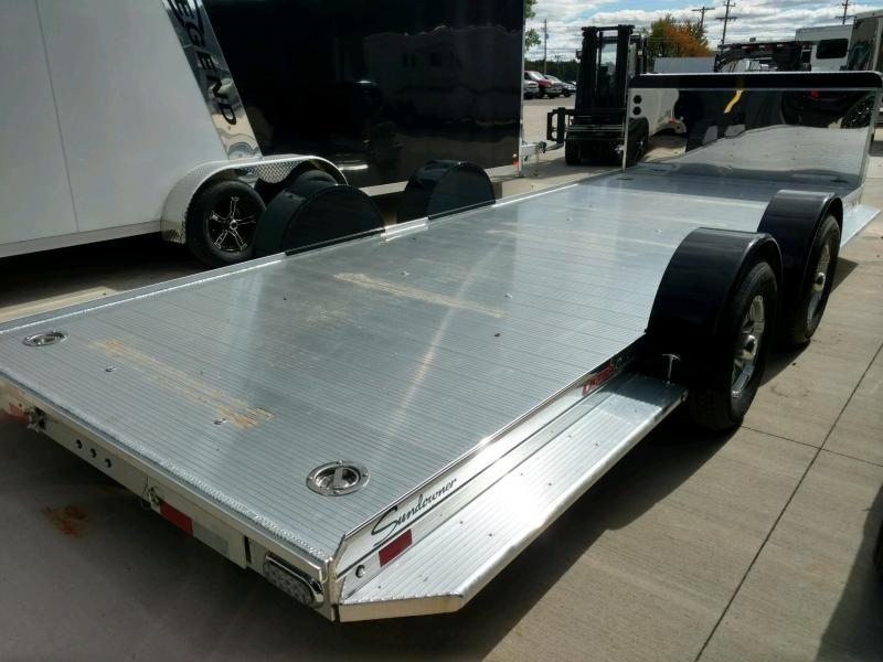 2020 Sundowner Sunlite 6.9X22 Open Car Hauler Trailer
