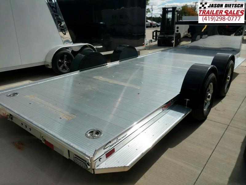 2020 Sundowner 6.9X22 Sunlite Car Trailer.... STOCK# SD-FA8000