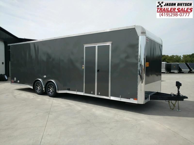 2020 United GEN4 8.5x28 Car/Racing Trailer Extra Height}