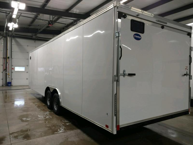 2020 United XLT 8.5X28 Enclosed Car/Race Trailer