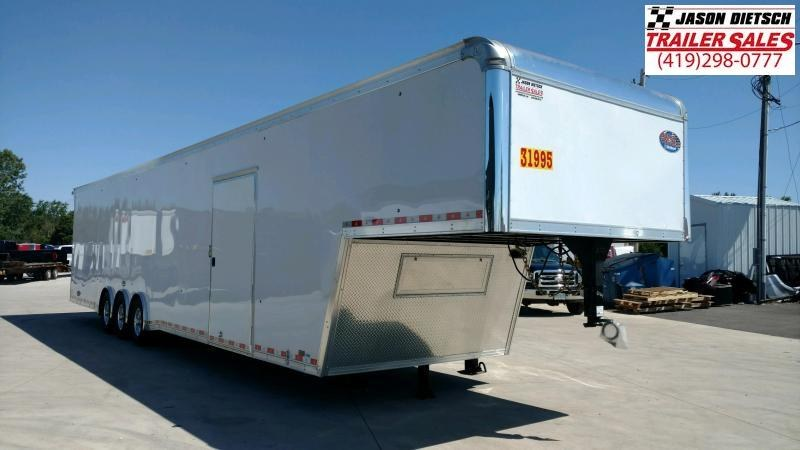 2019 United USHGN 8.5x44 Super Hauler Gooseneck Race Trailer Extra Height....Stock# UN-167727