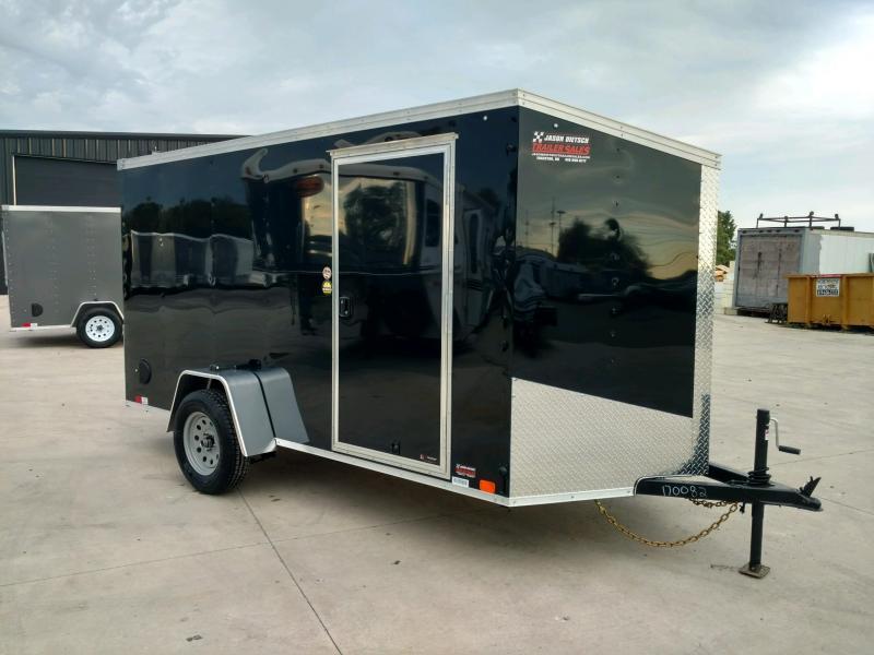 2020 United XLV 6X12 V-Nose Slant Enclosed Cargo Trailer....Stock# UN-170082