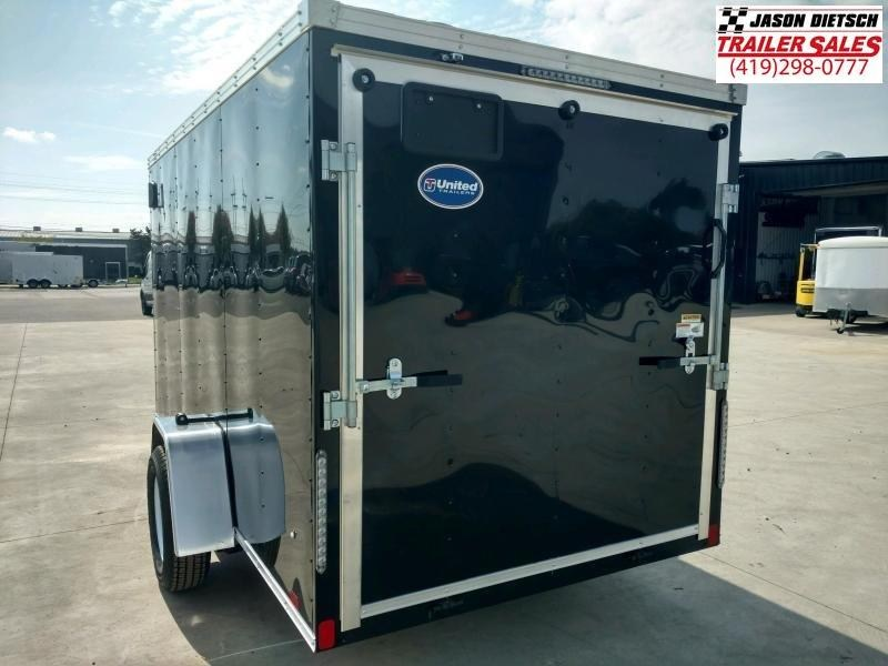 2020 United XLV 6X12 V-Nose Slant Enclosed Cargo Tr....Stock# UN-170082