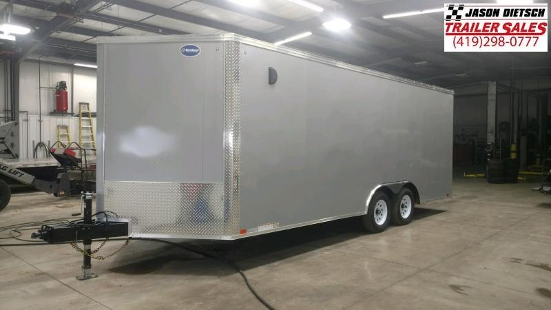 2020 United XLTV 8.5X23 Enclosed  Wedge/Slant Nose Car/Race Trailer