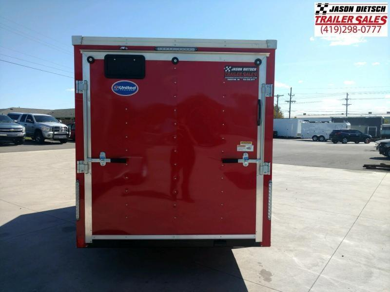 2020 United XLV 6X12 V-Nose Cargo Trailer
