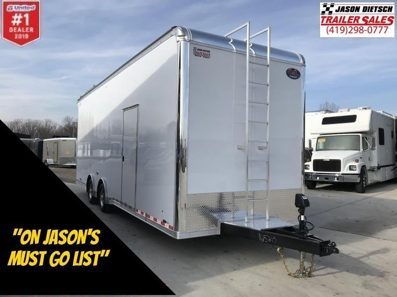 "2019 United 8.5X28 Sprint Car Hauler 30"" Extra Height"