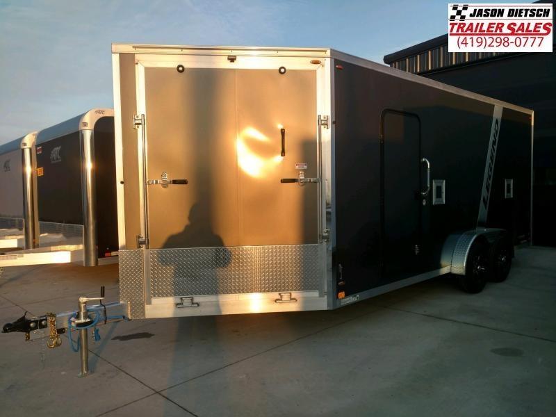 2020 Legend Explorer 7.5X23 Snowmobile/ATV Trailer Extra Height