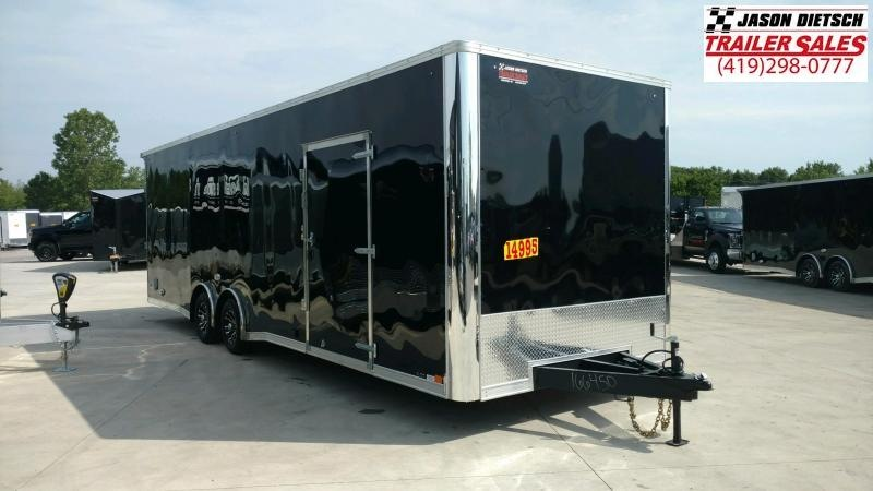 2020 United Trailers XLT 8.5X28 EXTRA HEIGHT Car / Racing Trailer....STOCK# UN-166454