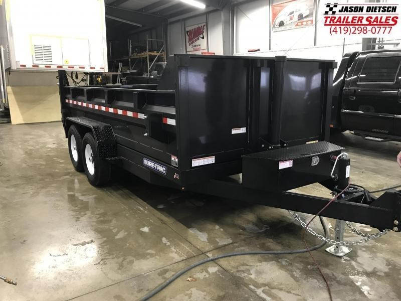 2020 Sure-Trac 82X14 14K Telescopic Dump Trailer